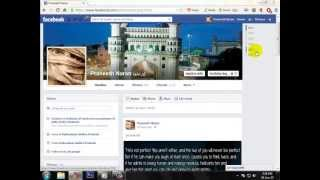 FACEBOOK:How to add an other name on facebook in brackets. [HD]