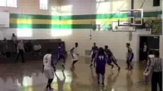 Fremont Boys Varsity Basketball VS Oakland High -  January 31, 2013