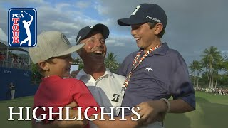 Matt Kuchar's winning highlights from Sony Open 2019