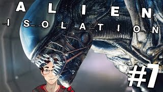 Alien: Isolation - Alone With Charlie - Episode 7! (Gameplay/Walkthrough)