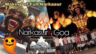 Making of Beast Narkasur in Goa 2018 | Beach boys Betim | Halloween Edit | Slideshow Halloween