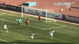 サッカー U23 シリア 2x1 日本 ハイライト