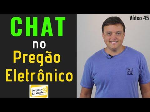 Chat No Pregão Eletrônico
