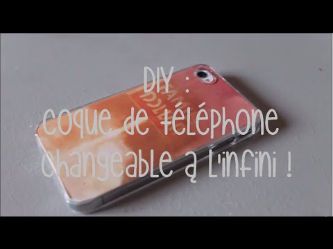 diy coque de t l phone changeable l 39 infini youtube. Black Bedroom Furniture Sets. Home Design Ideas