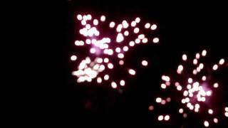 Feux d'artifices de Longny-au-Perche  ce 13 juillet 2011