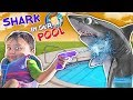 SHARK IN OUR POOL!  (FUNnel Vision Skit)