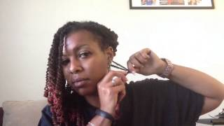 Download Loc Tutorial - Pipe Cleaner Curls by ShawnaLocsNBraids Mp3 and Videos