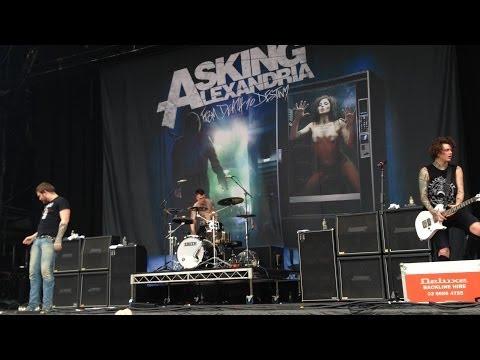 Asking Alexandria - live - Complete Set - Soundwave 2014 - Brisbane -22/2/14