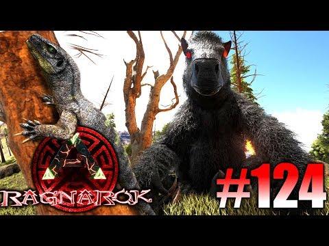 ARK: Ragnarok #124 - Ein Demonic Megatherium zähmen & den Monitor Lizard! | LP Ark Deutsch