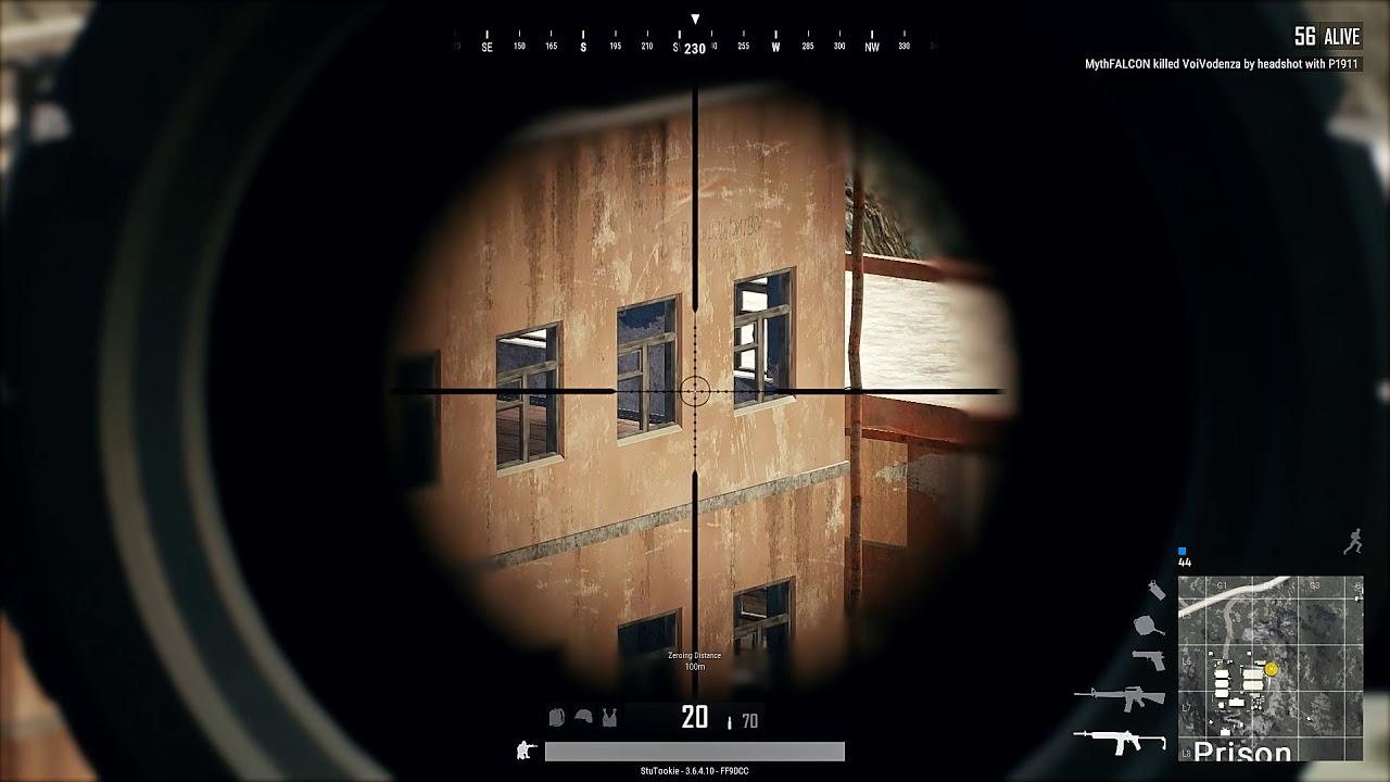 Playerunknown S Battlegrounds Single Kill Shot With