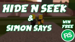 *FREE ROBUX* ROBLOX JAILBREAK SIMON SAYS!!! *FT KILLERGUY369