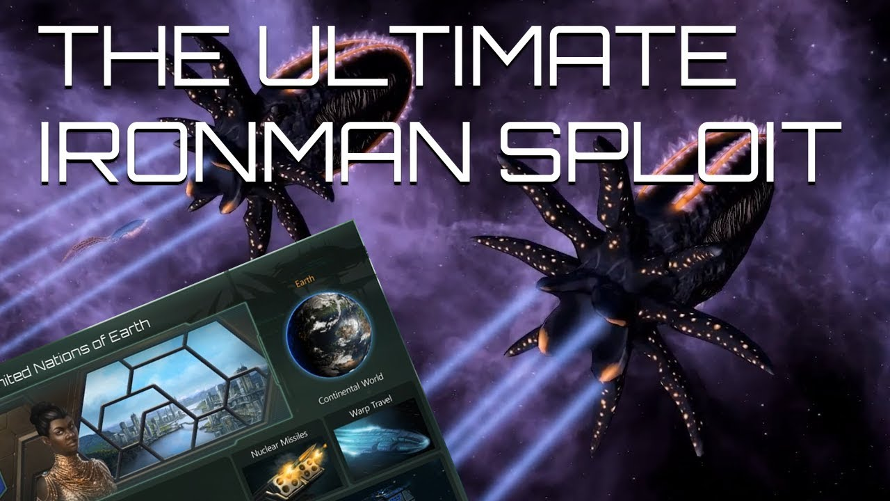 Stellaris - The Ultimate Ironman/Multiplayer Exploit