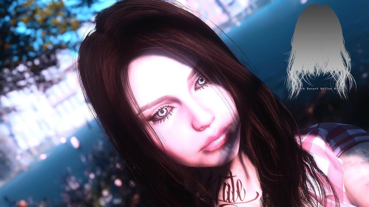 Fallout 4 Mod: Black Desert Online Hairs