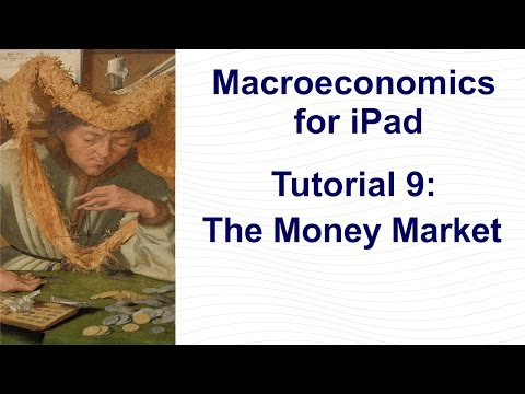 Tutorial 9: The Money Market│Money demand, money supply, target interest rate, real money