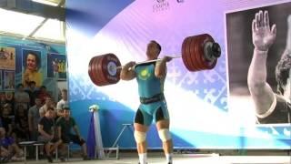 Илья Ильин 239 толчок - на турнире им  Храпатого