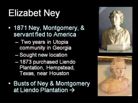 ARTH 4117 19th Century 8: Elisabet Ney