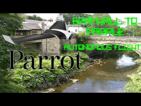Parrot Disco | Bramhall to Marple | 12 MILE AUTONOMOUS FLIGHT