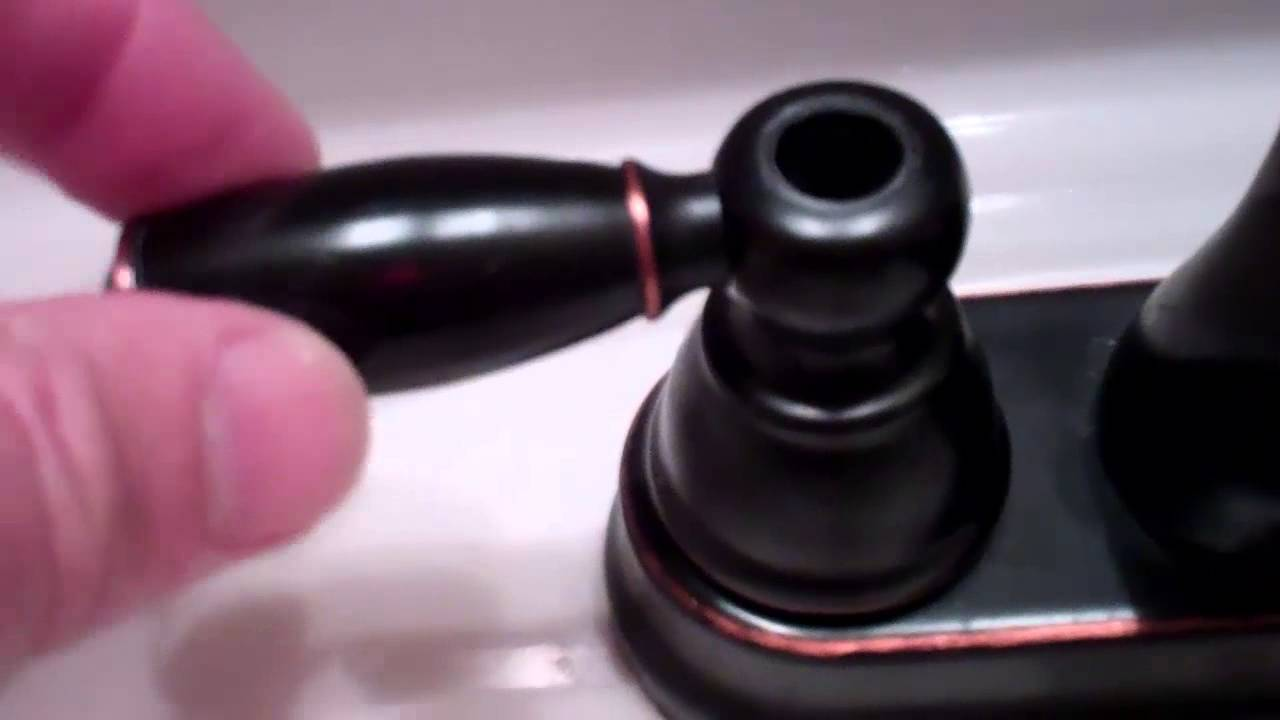 Bathroom Faucet Knob Repair faucet repair for loose handle (1:31) - youtube