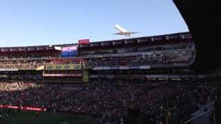 Flyby at Ellis Park Stadium