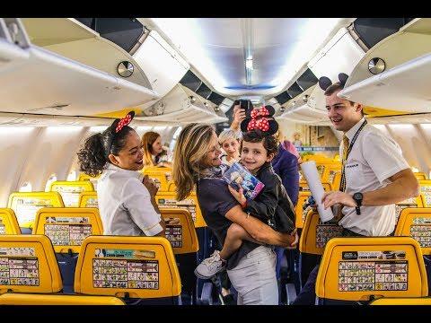 Ryanair y la Fundación Pequeño Deseo se unen para cumplir el deseo de volar de Lucía