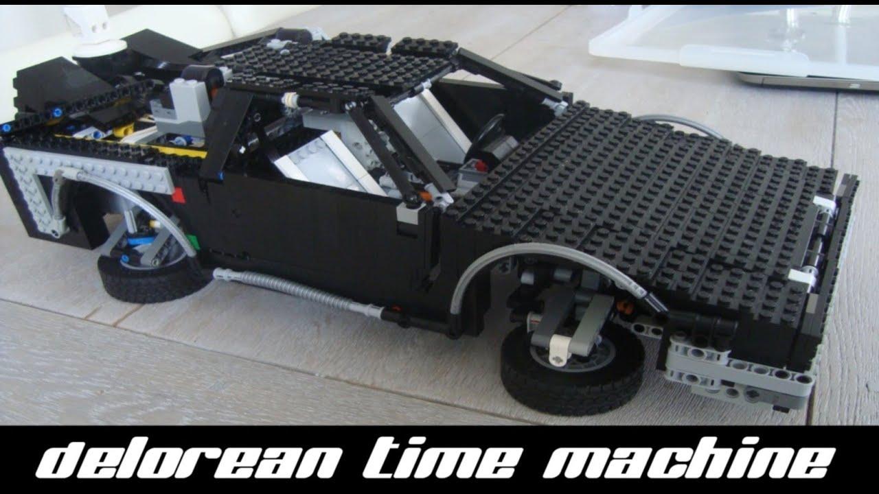 Lego Back To The Future Delorean Black Edition Youtube