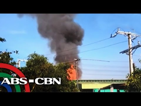 Shopkeeper hurt as 30 LPG tanks explode in Parañaque