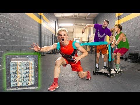 TOP SECRET $1 MILLION UNBREAKABLE BOX TRAINING for LOGAN PAUL CHALLENGER GAMES!!