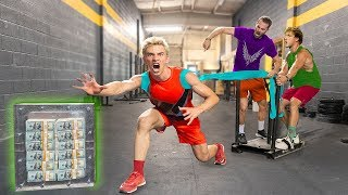 TOP SECRET $1 MILLION UNBREAKABLE BOX TRAINING for LOGAN PAUL CHALLENGER GAMES!!