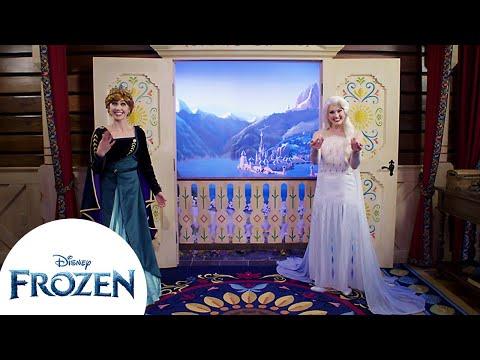 ¡Conociendo a Anna y Elsa! La importancia de la Familia   Disney Princesa