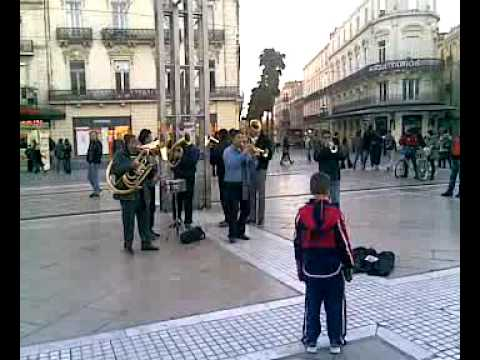 Music in the streets of Montpellier (France) vid2