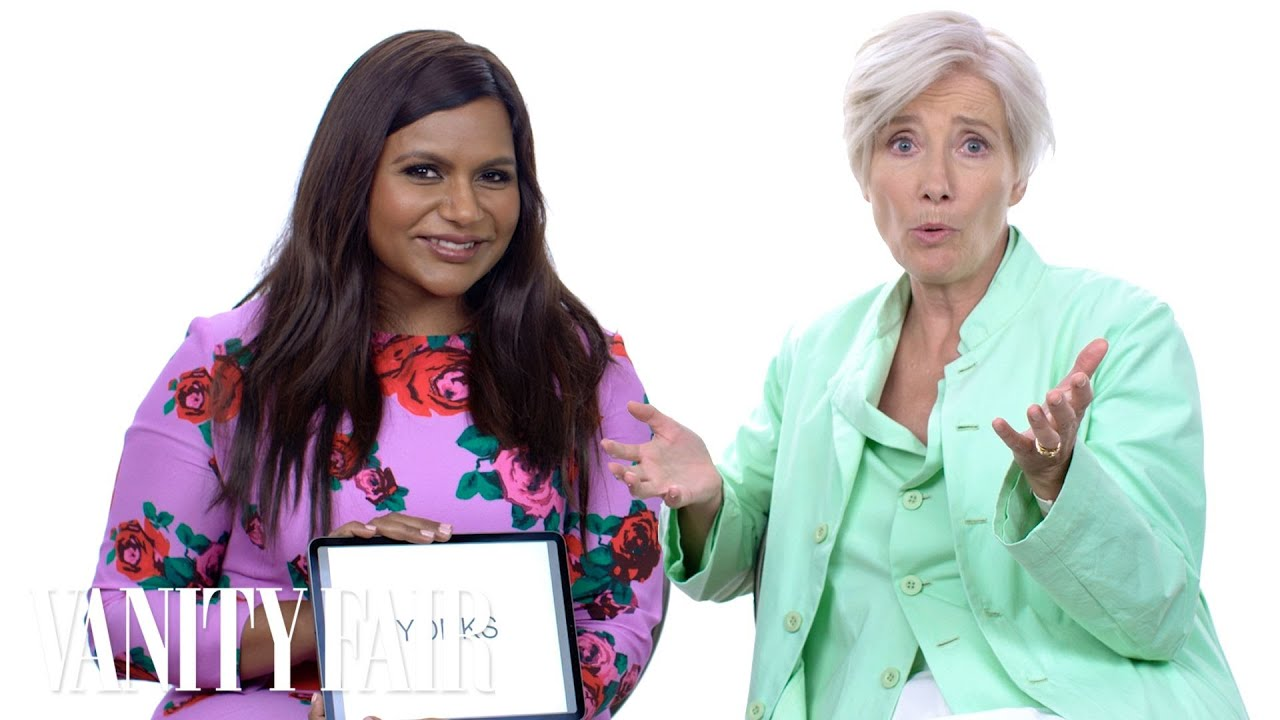 Emma Thompson and Mindy Kaling Teach You Posh British Slang