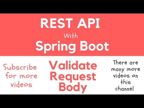 Validate Request Body in RESTful Web Service - Apps Developer Blog