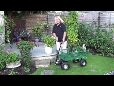 Draper mesh garden/utility cart 58552