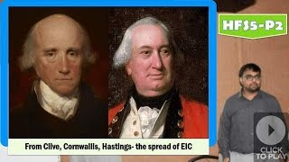 Doğu Hindistan Şirketi Lord Cornwallis için HFS5/P2: EIC GG - Robert Clive: Genişleme