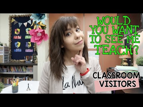 Would You Want to See Me Teach? | Teacher Vlog