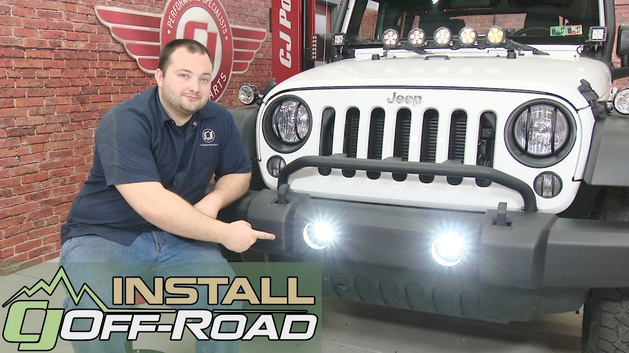 Jeep Wrangler Rugged Ridge Fog Light