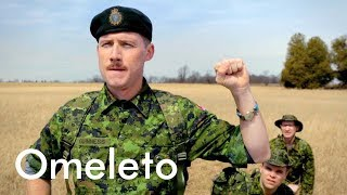 A fun-filled weekend in the Canadian army ends following an urgent distress call. | Weekend Warriors