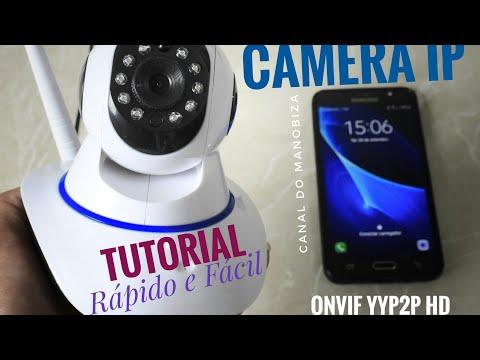 IP Camera Onvif yyp2p - Tutorial how to setup wifi app p2p cam
