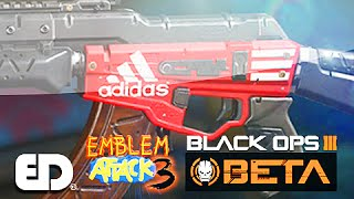 Black Ops 3: ADIDAS Theme Paint Job (Emblem Attack 3)