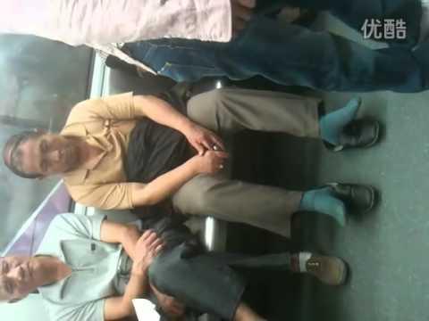 China Mainland Rude Subway behaviour