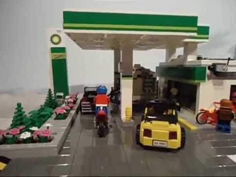 LEGO CITY  BP SERVICE STATION