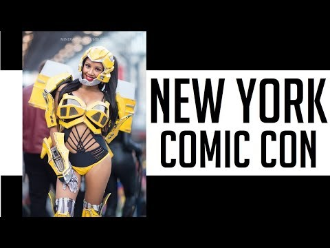 THIS IS NYCC NEW YORK COMIC CON 2017! cosplay music video vlog recap Westworld Bumblebee DJI OSMO