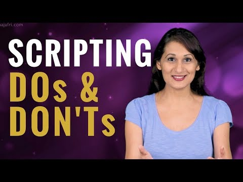 How to Write a Video Script to Improve Audience Retention - Video Script Example Download