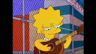 Ahora una clasica  Lisa toca la Guitarra - Los Simpson