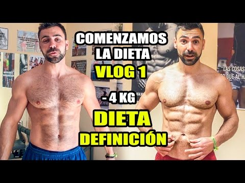 Dieta de definicion muscular