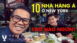 USA TRIP # TẬP 47: Ăn thử 10 Nhà hàng Việt Nam, Trung Hoa, Nhật Bản ở New York