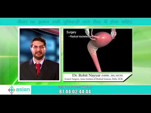 Dr Rohit Nayyar, Cancer Doctor sharing information on Cervix Cancer || Asian Hospital ||