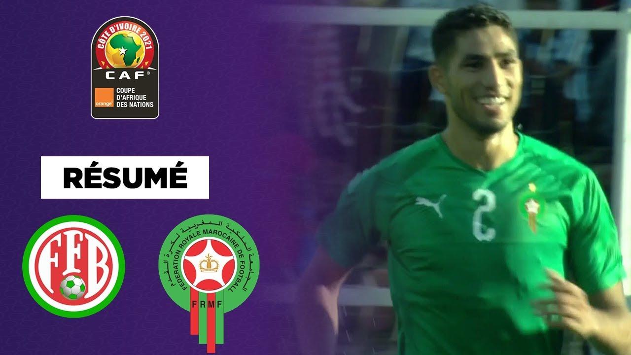 Éliminatoires CAN 2021 : Le Maroc enfin lancé