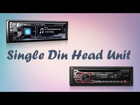 Top 8 Best Single Din Head Unit