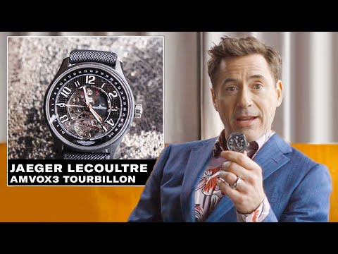 Robert Downey Jr. Shows Off His Epic Watch Collection   GQ